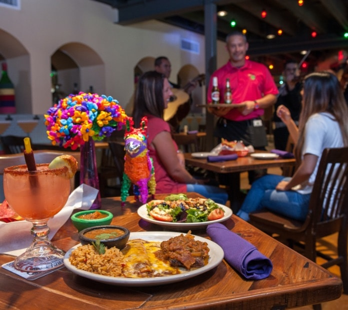 Mexican food at Cafe Olé on the River Walk